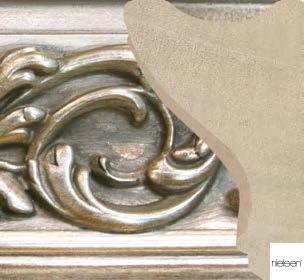 Schybergslist-ornament-lister-silver